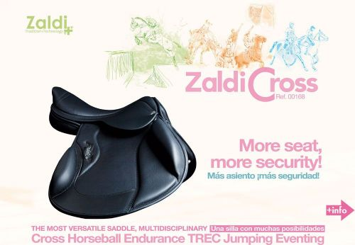 Zaldi Cross saddle
